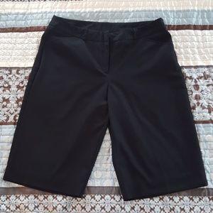 Flat front Bermuda Trousers